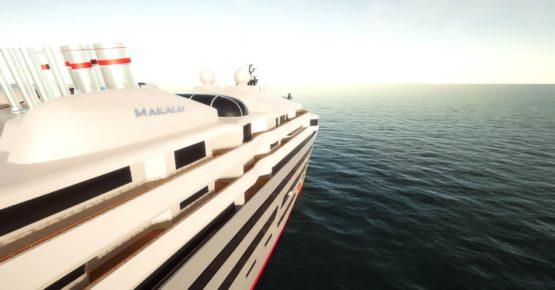 Sea & Style Yacht Simulator Side Closeup